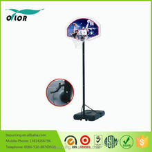 Wholesale best quality crank adjustment prefessional movable portable 10' basketball stand for outdoor training