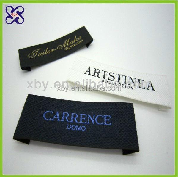 clothing label maker white woven label buy label maker With cloth label maker