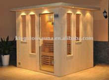 6 people outdoor dry sauna cabin house