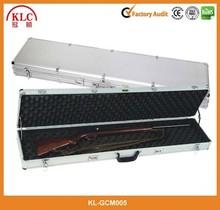 Rolling Deluxe Aluminum Locked Gun Case Rifle Lock Shotgun Storage case with Wheels--KL-GM005