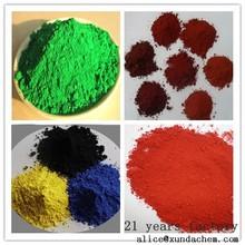 iron oxide pigment used for floor/terrance color concrete pigment/piant/colorant/dyestuff