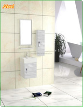 new arrival wall mounted stainless steel bathroom cabinet with side cabinet