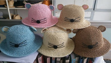 Cute Wholesale Straw Hats For Children