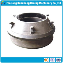 high manganese steel nordberg bowl linerbowl liner cone crusher
