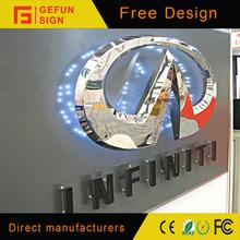 LED light Car Sign logo for Car Dealer Store or 4S Stores