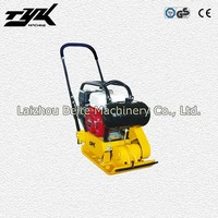 Road Vibrator Plate Ramming Compactor with Honda Engine and Water Tank