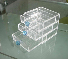 Fashionable acrylic box makeup good price