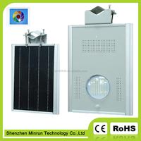 CE/RoHS Bridgelux Chip 12V12w integrated Solar LED Street Light led garden light