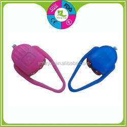 Promotional Gifts Hot selling Bicycle Cheap Silicone Light Bike/Silicone Bicycle Front Lights