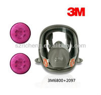 3M Respirator 6800 Full Facepiece Protective face mask/Replaceable Cartridges for gas mask