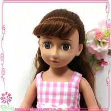 Sunny girl doll fixed eyes with eyelash Cute dolls oem 18 inch cute dolls for sale
