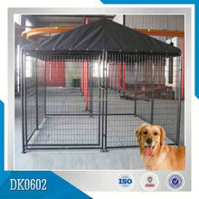 Small MOQ Cheap Galvanized Dog Kennel For Sale