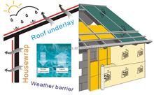 breathabler roofing felt membrane