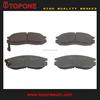 Automobile Brake Pad For MITSUBISHI/HYUNDAI GDB1128 GDB3133 GDB4083