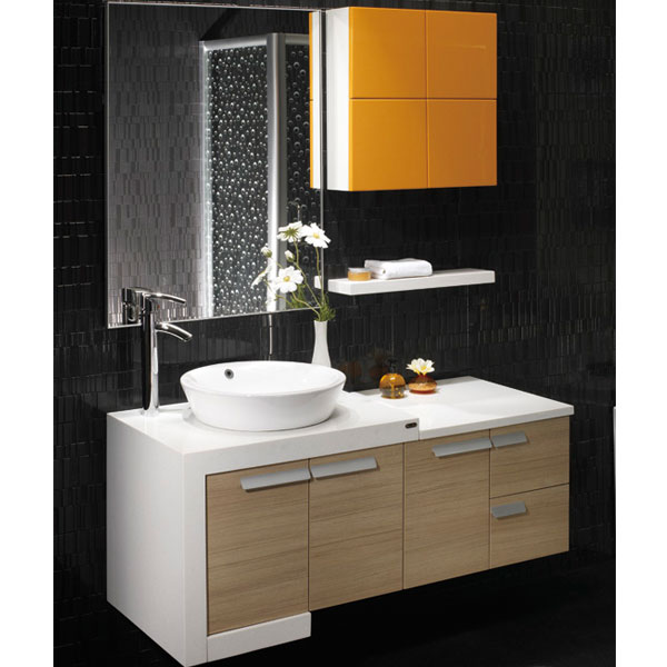 White And Bisque Lacquered Solid Wood Bathroom Vanity Buy Bathroom Vanity White And Bisque
