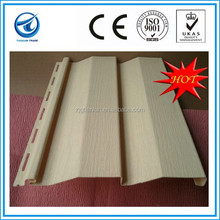 O Risk!With 10 Tear Warrantee PVC Vinyl Siding Manufacturer In China