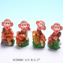 custom funny hand painted resin craft liquidation