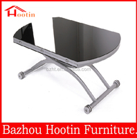glass top high gloss coffee tables made in china