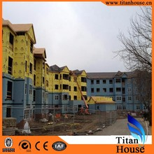 Anti-seismic Muti-storey China Supplier Low Cost Light Gauge Steel Framing Prefab Building Houses for Nepal