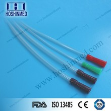 Hot Sale High Quality Disposable Sterile Rectal Tube With Lateral Eyes funnel shape rectal tube