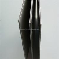 building finishing panels aluminum plastic board, lightweight plastic board/wood pattern PVDF paint aluminum composite panel