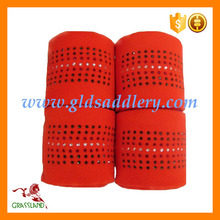 Great Fleece Horse Bandage for Horse Racing