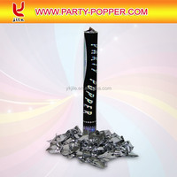 All Size Confetti Shooter filled with Metallic Foil Confetti