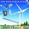 Promotion 2KW Off Grid System Low Speed Wind Power Generator