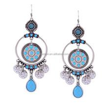 Anti-Oxidation American Hot Sale charm 2015 fashion earrings