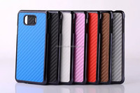 Carbon Fiber Leather Hard Case For Samsung Galaxy Alpha