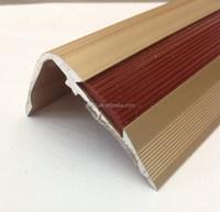 foshan flexible flooring trim for stair nosing