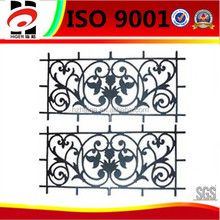 sand casting iron window decoration,cast iron product,wrought iron parts