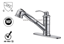 cUPC Lead free Tap Pull out Brass water mixer