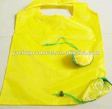 folding dog shape shopping bag or corn shape shopping bag