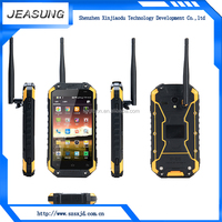 wholesale 4.7inch android4.4.4 MTK6582 quad core dual sim smart phone IP68 waterproof rugged phone with walkie talkie