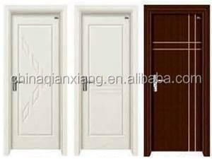 Int rieur moderne design main pvc porte en bois pour for Porte pour chambre en bois