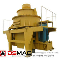 With good gravel particle shape OEM rock sand making machine