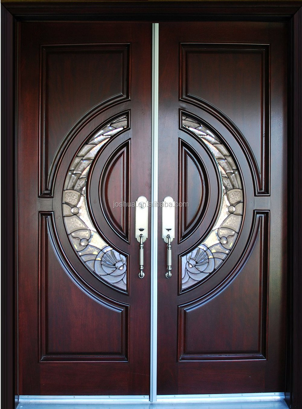 100 Mahogany Tiffany Wood Door Exterior Front Entry Double House