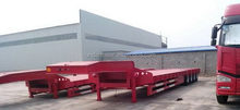 Super quality latest new design low bed/lowbed semi trailer