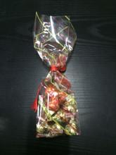 Opp impression fond de bloc sacs pour emballage de chocolat