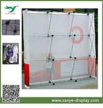 easy to install fabric trade show display booth