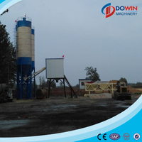 Hot sale mixing machine HZS35 cement concrete mixing plant price