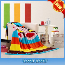 2015 new 100% polyester super soft knitted flannel baby blankets wholesale