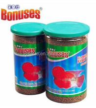 BONUSES 480G flower horn coloring fish food B01057
