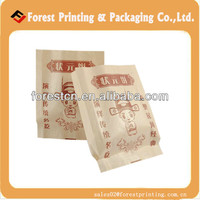 Kraft paper food bag,cheap brown paper bags for food packaging