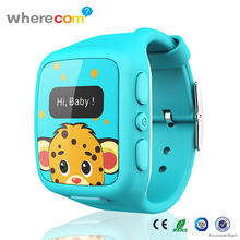 Fashion Watch Cell Phone for School Boy with SOS Call and GPS Tracking