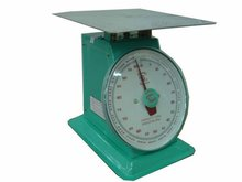 100/120 Kilograms Stainless Flat Plate Mechanical Spring Dial Scale