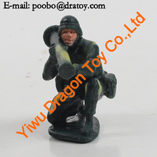 yiwu factory sale plastic cartoon toy soldier