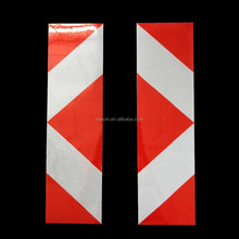 Reflect Car Body Stickers Red White
