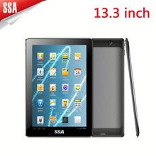 13.3inch Big rk3188 Android touch advertising tablet tablet 1920*1080 tablet Picture+ music+ video